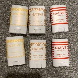 Native Deodorant Travel Sample Bundle